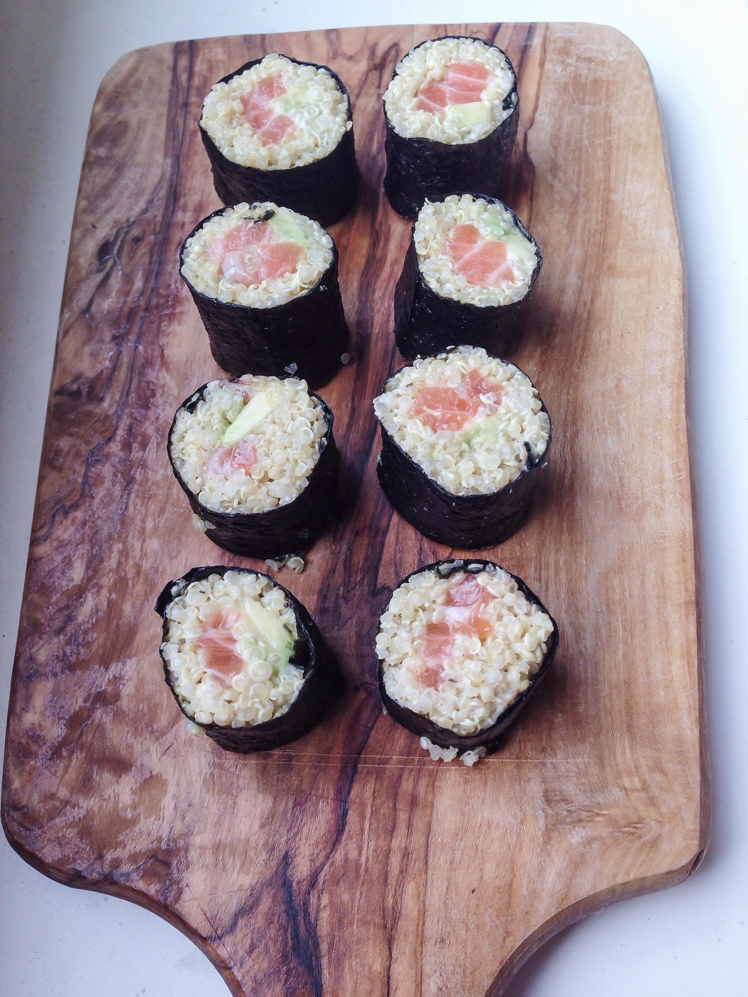Foodie Friday: Quinoa Sushi met zalm