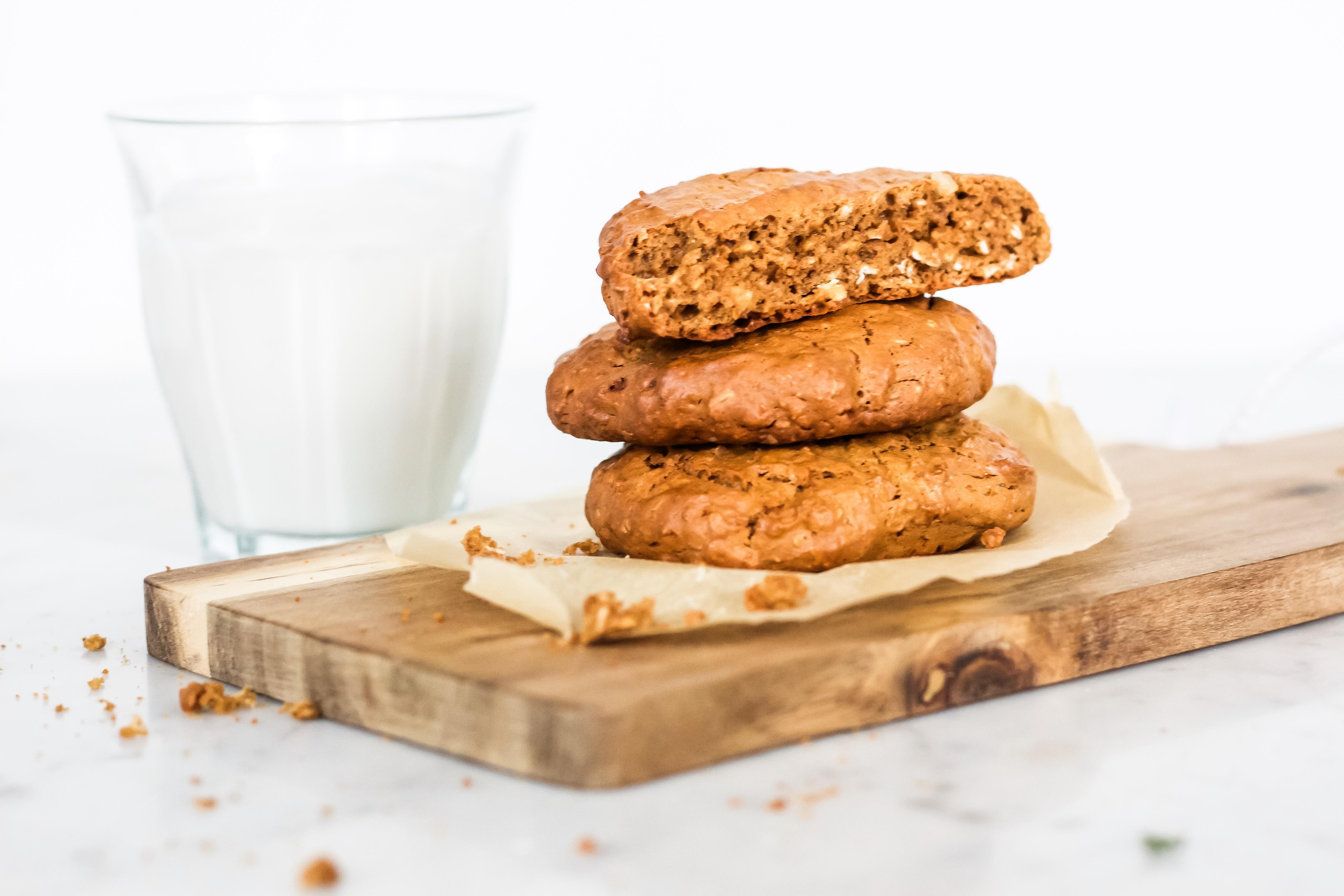 Foodie Friday! De lekkerste pindakaas-havermout koekjes